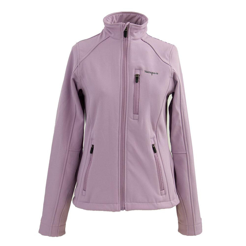 Tempco Ladies' Softshell Bonded Jacket - TL310 - LAVGRY
