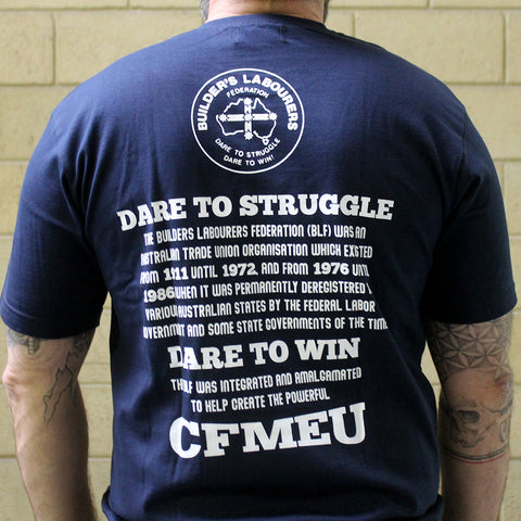 BLF DARE TO STRUGGLE T-SHIRT