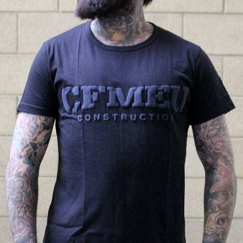 CFMEU CONSTRUCTION BLACK T-SHIRT