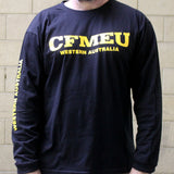 CFMEU WA LONG SLEEVE T-SHIRT