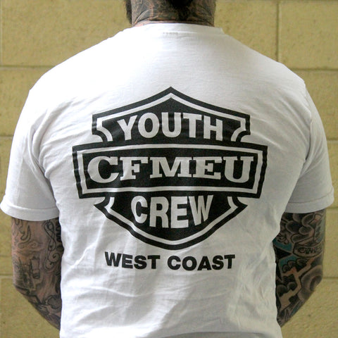 CFMEU YOUTH CREW WEST COAST T-SHIRT