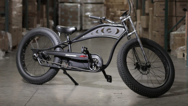 Micargi Cyclone - 48V Electric, Fat Tire, Beach Cruiser