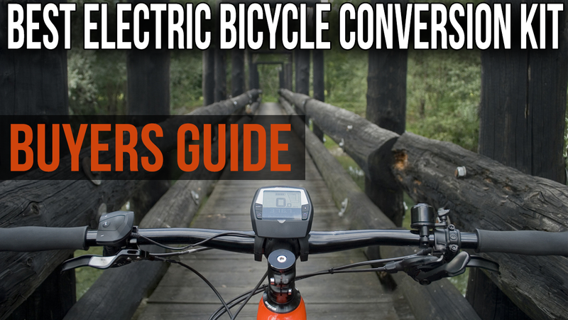 Best Electric Bicycle Conversion Kits of 2018 - Electric Wheel - Modwheel Buyers Guide