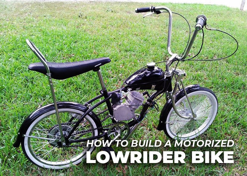 How to Build a Motorized Lowrider Bike