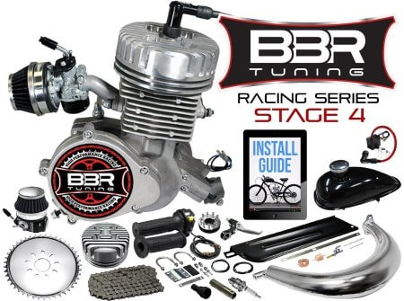 BBR Tuning Racing Series Stage 4 66/80cc 2-Stroke Engine Kit