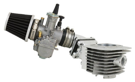 BBR Tuning Racing Series DIO Cylinder Body & High Performance 21mm OKO Carburetor Assembly.