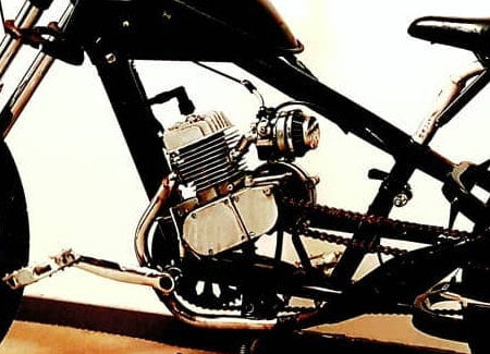 2-Stroke Motorized Bicycle with High-Performance Carburetor