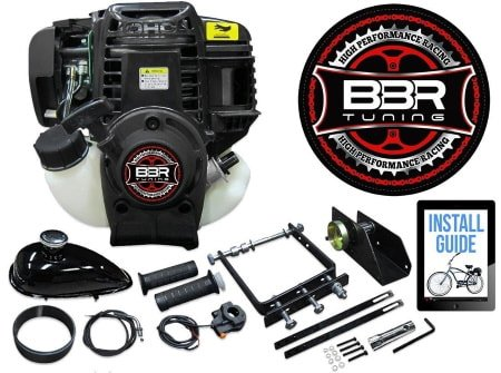 BBR Tuning 38cc Lock-N-Load Friction Drive Bicycle Engine Kit- 4-Stroke