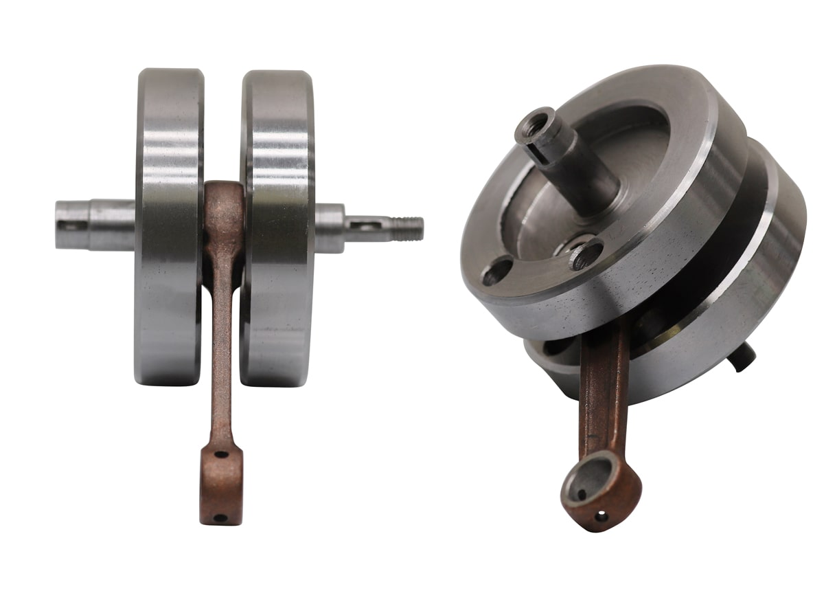 40mm crank for a 2-stroke engine.