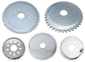 This is a set of motorized bike sprockets.