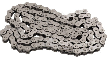 415 Heavy Duty Chain for a 2-stroke motorized bicycle.