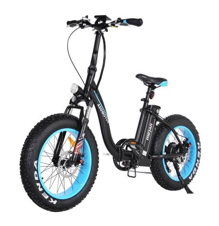 This is a picture of the AddMotor 500W Motan M-140 Fat Tire Folding Electric Bike.