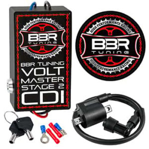 This is a BBR Tuning Volt Master High Performance Racing CDI (Stage 2).
