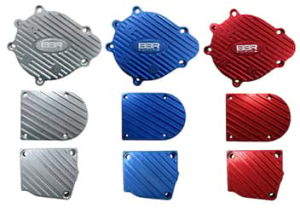 This is a BBR Tuning Billet Aluminium Engine Case Cover Set.