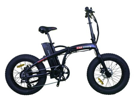 This is a picture of the CIVI BIKES 500W Rebel 1.0 Fat Tire Folding Electric Bike/