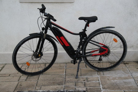 Commuter e-bike for road use.