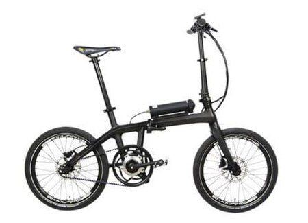 Eprodigy small electric bike with 20-inch tires.