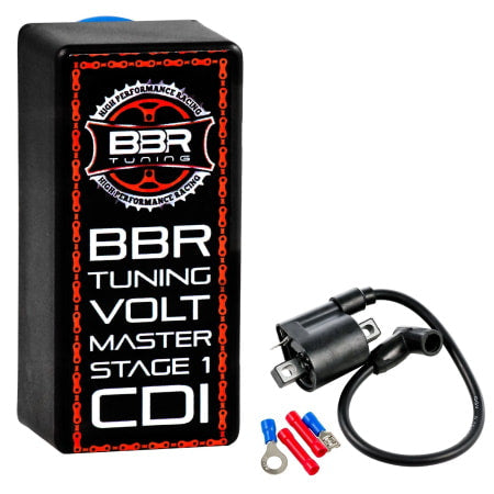 BBR Tuning Volt Master High Performance Racing CDI (Stage 1) for 2-stroke engines.