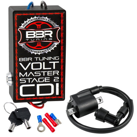 BBR Tuning Volt Master High Performance Racing CDI (Stage 2) for 2-stroke engines.