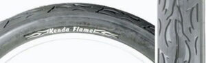Kenda Duro Flame beach cruiser tire for bicycles and motorized bikes.