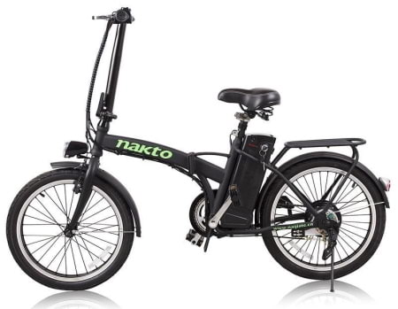 This is a picture of the Nakto 250W Fashion Folding Electric Bike.