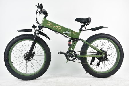 This is a picture of the Olic 500W TMB-26 Tank Mountain Folding Electric Bike.
