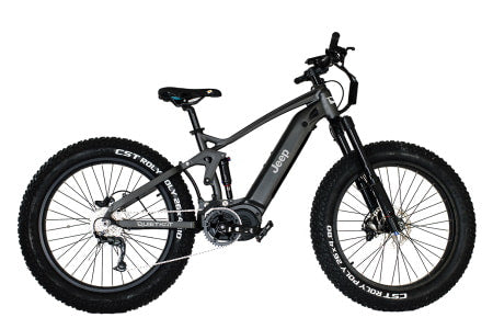 QuietKat Jeep 750w Electric Mountain Bicycle for off-roading.