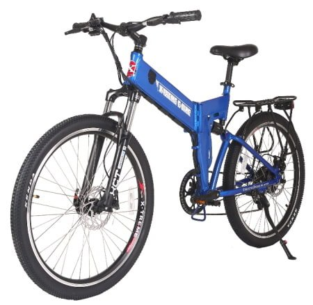 This is a picture of the X-Treme 350W X-Cursion Max Folding E-Bike.
