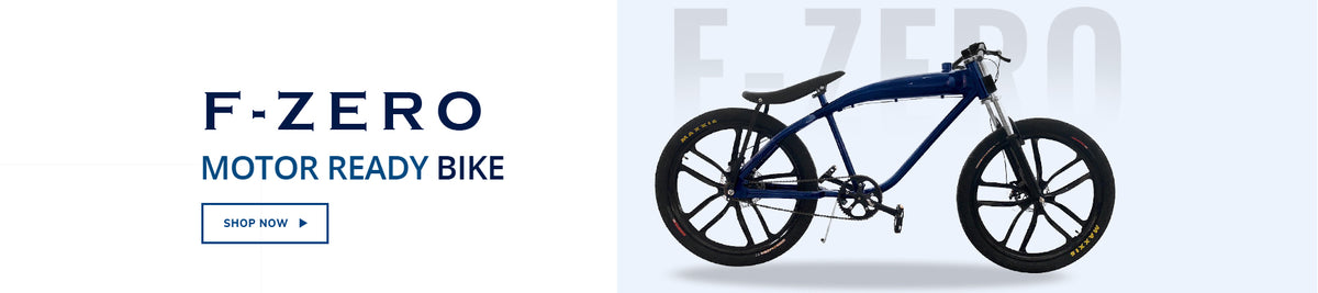 F-Zero motor-ready motorized complete rolling bike - Shop Now