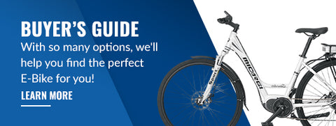 Buyers guide with so many options we'll help you find the perfect Ebike for you!