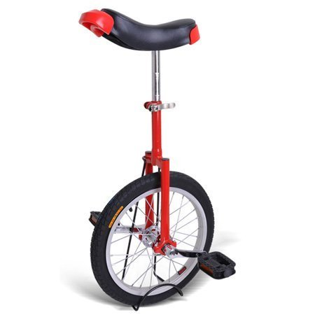 Gorilla 16 Inch Wheel Unicycle - red side