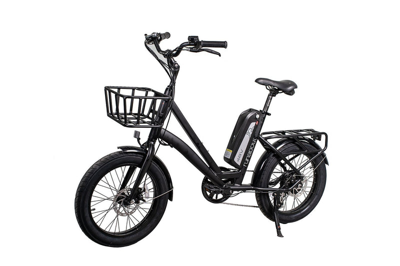 Civi 500W Runabout Compact black bicycle front