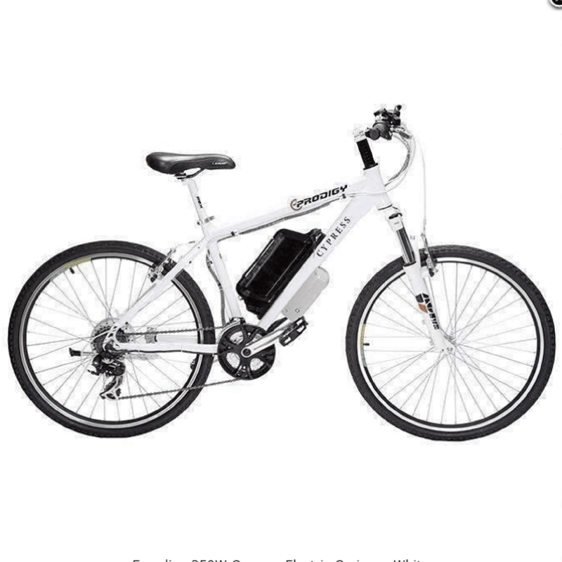 Electric Bicycle Eprodigy Cypress White