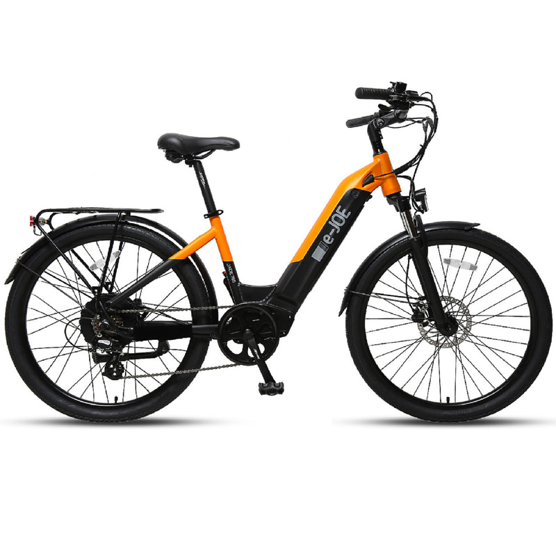 Electric Bike E-Joe Jade Orange Main