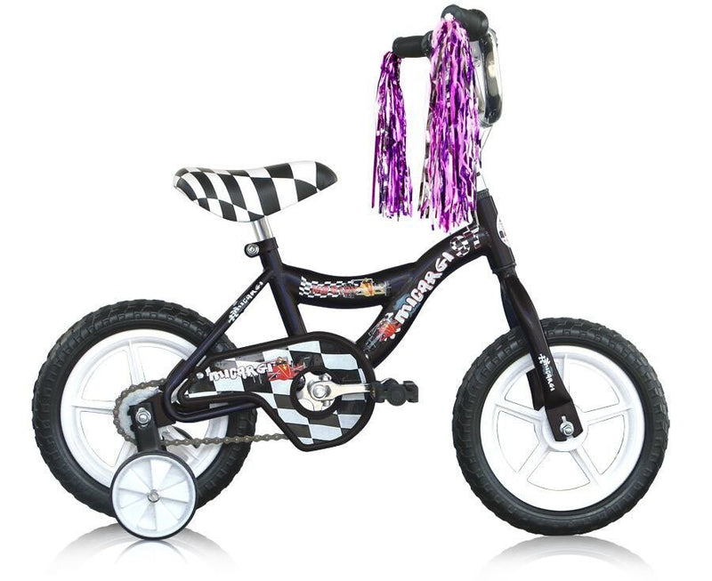 12'' Micargi Boys MBR12Y - black - side of bicycle