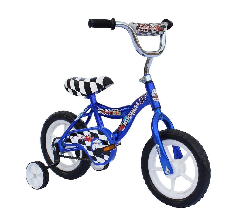 12'' Micargi Boys MBR12Y - blue - front of bicycle