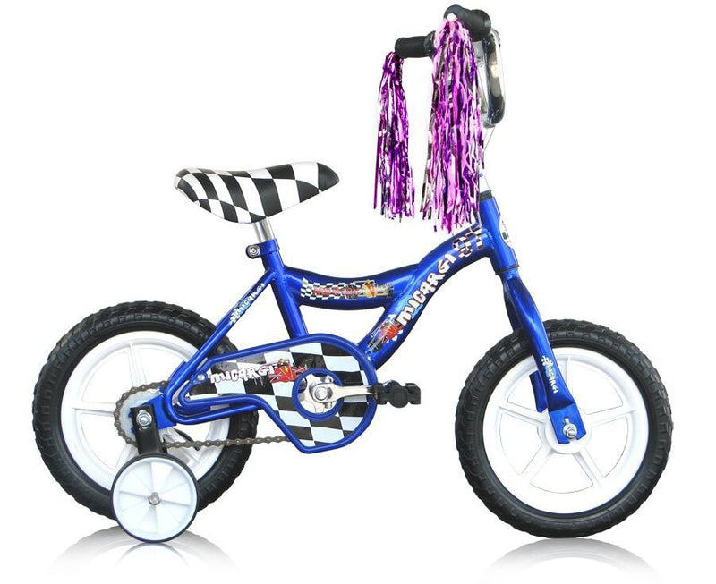 12'' Micargi Boys MBR12Y - blue - side of bicycle