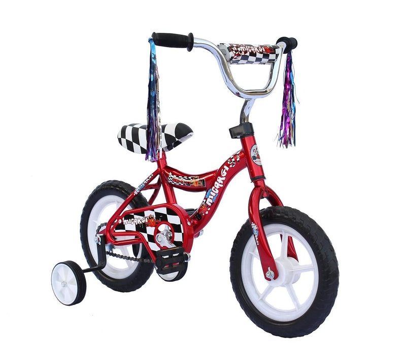 12'' Micargi Boys MBR12Y - red - front of bicycle