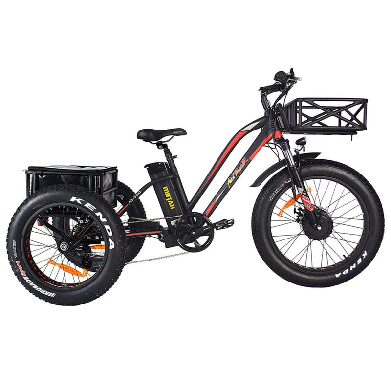AddMotor 750W MOTAN M-350 P7 Fat Tires 750 Watt Motor Electric Tricycle - side