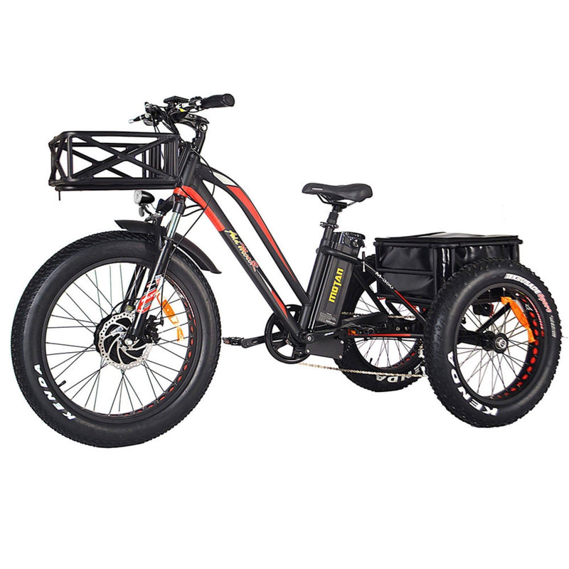 AddMotor 750W MOTAN M-350 P7 Fat Tires 750 Watt Motor Electric Tricycle - front
