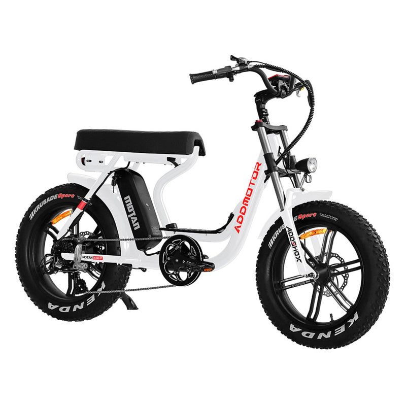 Electric Bike AddMotor 750W MOTAN M 66 R7 Mini Moped Step Thru Fat Tire Electric Bike Profile 3