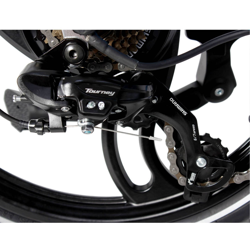 E-Joe XV 500W EPIK Swan Folding rear derailer
