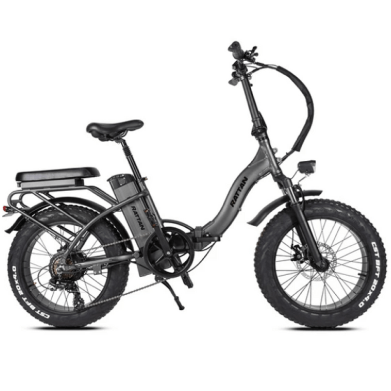 Electric Bike Rattan LF Black