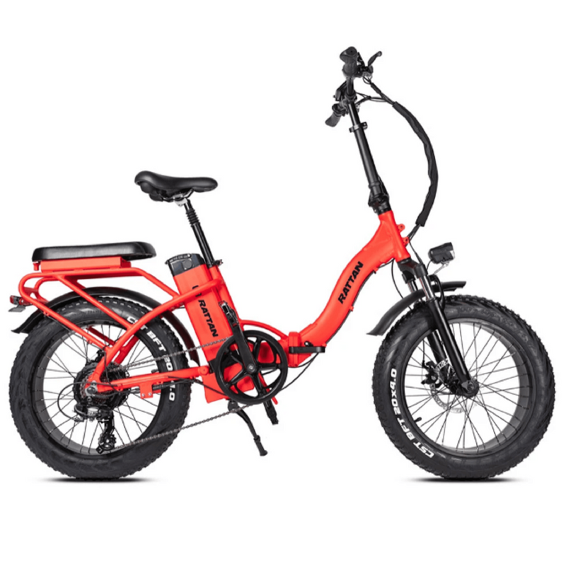 Electric Bike Rattan LF Red