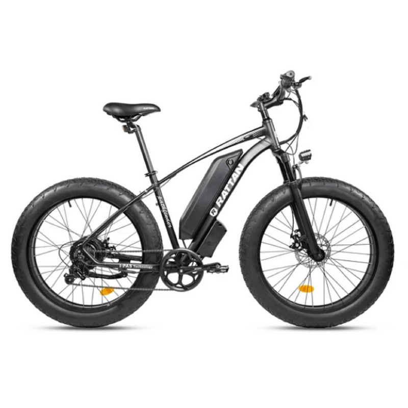 Electric Bike Rattan Pathfinder Black