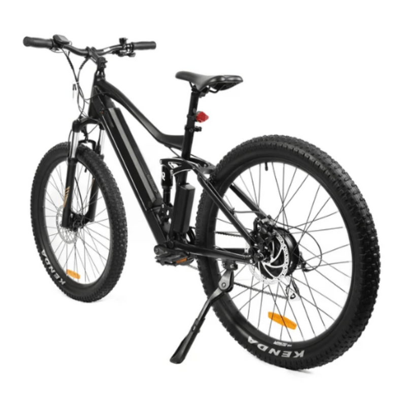 Eunorau 350W 36V UHVO All Terrain Full Suspension 3.0 Mountain rear of bicycle