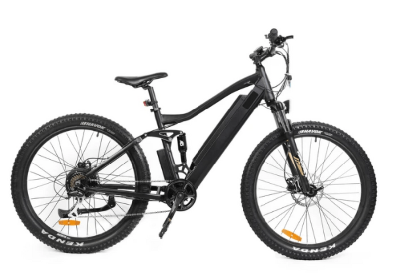 Eunorau 350W 36V UHVO All Terrain Full Suspension 3.0 Mountain side of bicycle