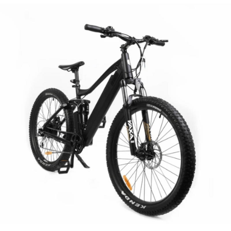 Eunorau 350W 36V UHVO All Terrain Full Suspension 3.0 Mountain front of bicycle