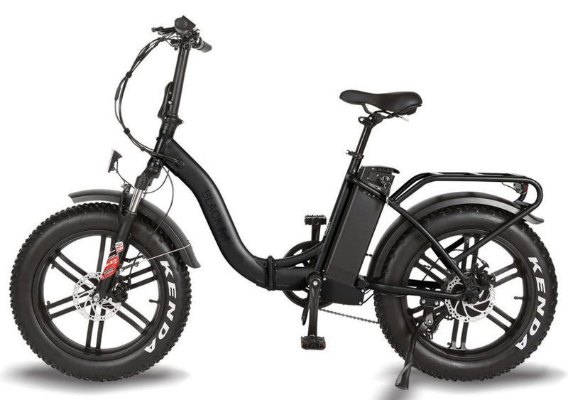 T4B 350W Fat Black 2-Way Fat Tire Folding side
