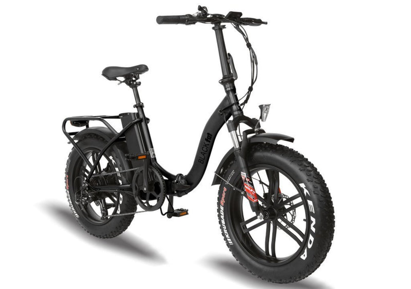 T4B 350W Fat Black 2-Way Fat Tire Folding front
